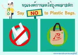 การลดการใช้ถุงพลาสติก